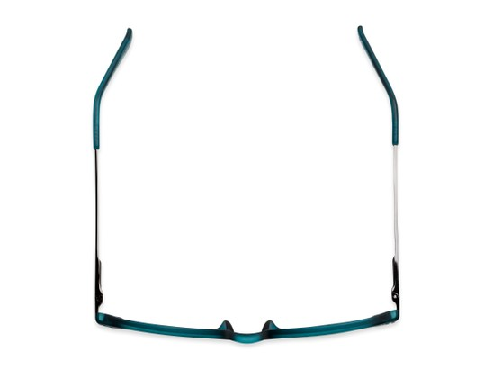 Overhead of The McKay Multi Focus Reader by Foster Grant in Teal Blue