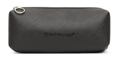 Angle of Readers.com Dual Reader Zip Pouch in Black, Women's and Men's  Soft Cases / Pouches