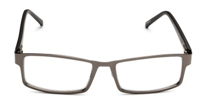 Front of The Sawyer Multi Focus Reader by Foster Grant in Gunmetal Grey