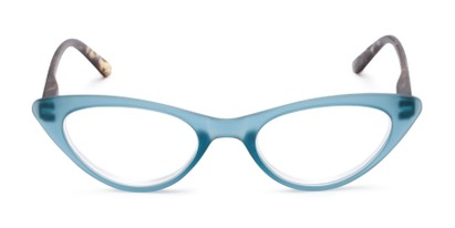 Front of The Stella in Blue/Tortoise