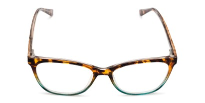 Front of The Teresa in Tortoise/Aqua