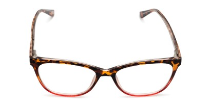 Front of The Teresa in Tortoise/Red