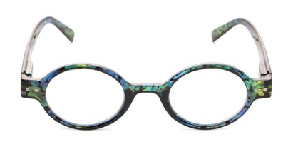 Front of The Visionary in Blue Tortoise