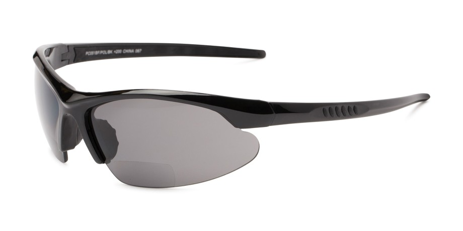 8fc6389564d Angle of The Radley Polarized Bifocal Reading Sunglasses in Black with  Amber