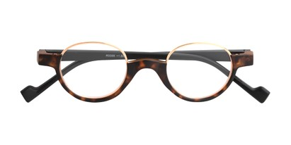 Folded of The Raegan in Tortoise/Black