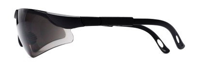 Side of The Raymond Bifocal Safety Reading Sunglasses in Black with Smoke