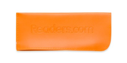 Angle of Reading Glasses Pouch in Orange, Women's and Men's  Soft Cases / Pouches