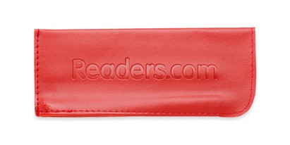 Angle of Reading Glasses Pouch in Red, Women's and Men's  Soft Cases / Pouches