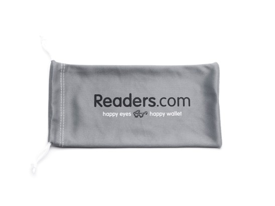 Angle of Readers.com Microfiber Pouch in Grey, Women's and Men's  Soft Cases / Pouches