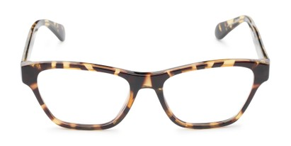 Front of The Reba Customizable Reader in Tortoise