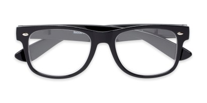 large hipster square frame readers