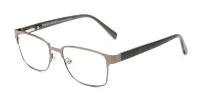 Angle of The Ronnie - Foster Grant for Readers.com in Grey/Grey Tortoise, Women's and Men's