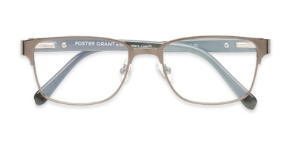 Folded of The Ronnie - Foster Grant for Readers.com in Grey/Grey Tortoise