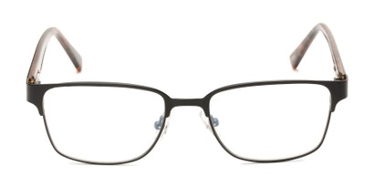 Front of The Ronnie - Foster Grant for Readers.com in Black/Brown Tortoise