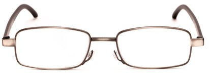 slender metal unisex reading glasses