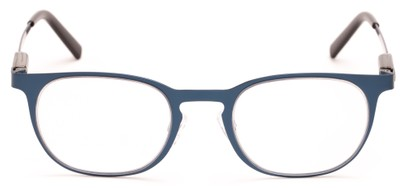 flat top metal unisex reading glasses
