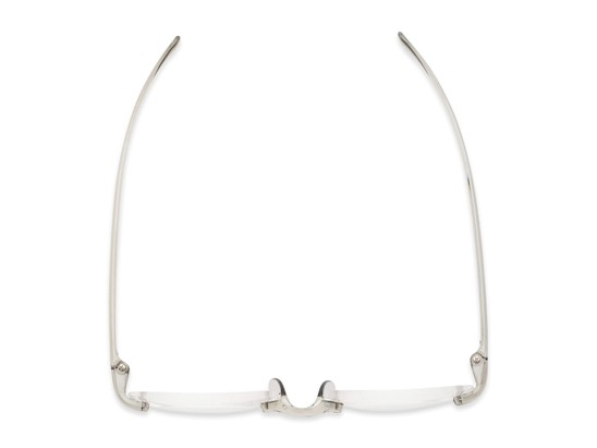 mixed material simple rimless reader