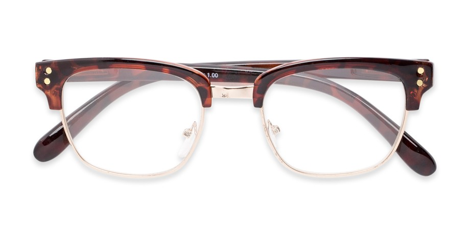 ebfdb10639 50s and 60s-Inspired Browline Reader for Men and Women