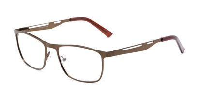 Angle of The Scotch in Bronze, Men's Rectangle Reading Glasses