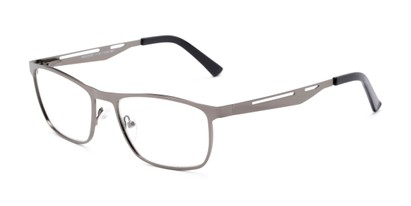 Angle of The Scotch in Gunmetal, Men's Rectangle Reading Glasses