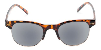 Front of The Shiloh Reading Sunglasses in Tortoise with Smoke