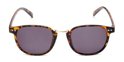 Front of The Silas Reading Sunglasses in Tortoise with Smoke