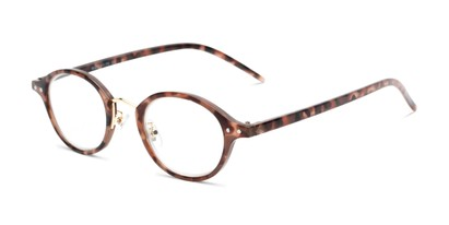 Angle of The Spring in Tortoise, Women's and Men's Round Reading Glasses
