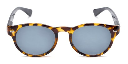 Front of The St. Paul Reading Sunglasses in Tortoise/Black with Smoke