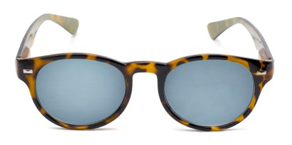 Front of The St. Paul Reading Sunglasses in Tortoise/Yellow with Smoke