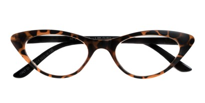 Folded of The Stella in Tortoise/Black