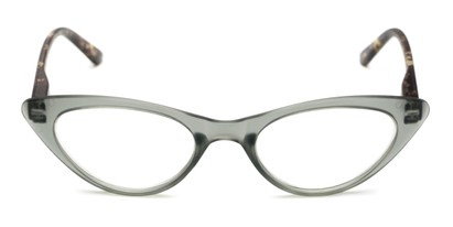 Front of The Stella in Grey/Tortoise