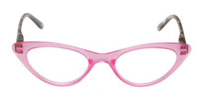 Front of The Stella in Pink/Tortoise