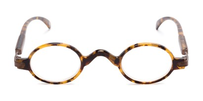 Front of The Sterling in Yellow Tortoise/Bronze