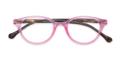 two toned translucent matte cute readers