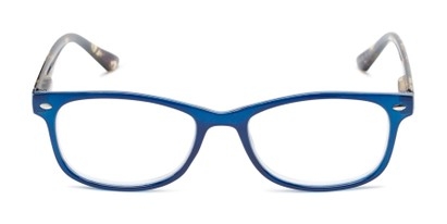 Front of The Symphony in Navy Blue/Tortoise