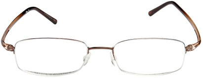 Semi-Rimless Wire Rimmed Readers
