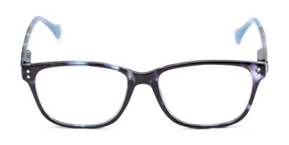 Front of The Taft in Blue Tortoise