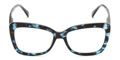 Front of The Tatum in Blue Tortoise