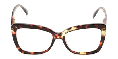Front of The Tatum in Brown Tortoise