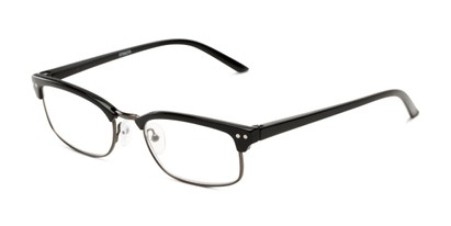 Angle of The Thorn in Black/Grey, Women's and Men's Browline Reading Glasses