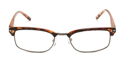 Front of The Thorn in Brown Tortoise/Bronze