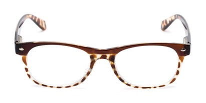 Front of The Tilly in Brown Tortoise
