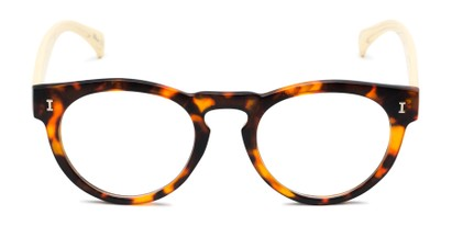 Front of The Timber in Matte Tortoise/Wood