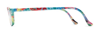 Side of The Tropical in Red/Blue Multi with Fish