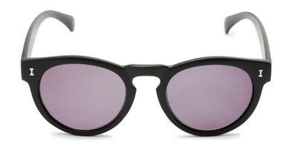 Front of The Tupelo Reading Sunglasses in Matte Black with Smoke