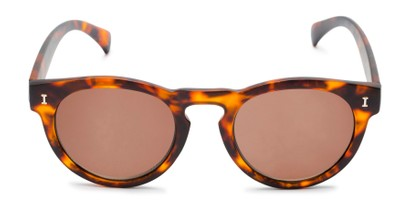Front of The Tupelo Reading Sunglasses in Matte Tortoise with Amber