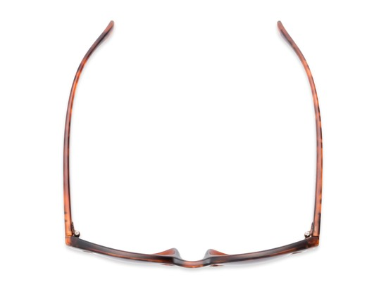 Overhead of The Vale Bifocal Reading Sunglasses in Matte Tortoise with Smoke