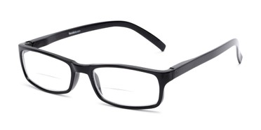 6389640372 Unisex Simple Rectangle Bifocal Reading Glasses