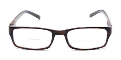 Front of The Vancouver Bifocal in Tortoise/Black