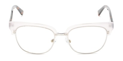 Front of The Versailles Signature Reader in Clear/Tortoise
